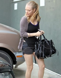 Amanda Seyfried chooses her Alexander Wang handbags